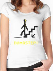 DUmBSTEP Women's Fitted Scoop T-Shirt