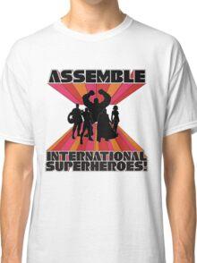 International Superheroes Classic T-Shirt