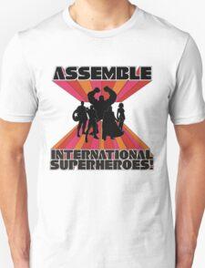 International Superheroes Unisex T-Shirt