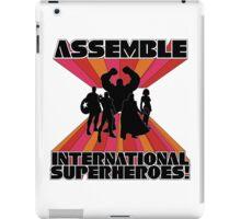 International Superheroes iPad Case/Skin