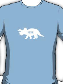 Triceratops Love Veggies - Dark T-Shirt