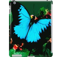 Wild nature - butterfly blue iPad Case/Skin