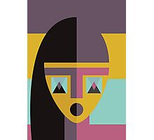 Geometric model Photographic Print