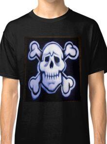 skull over crossed bones t Classic T-Shirt