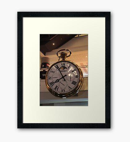 Fob Watch Framed Print