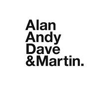 ALAN, ANDY, DAVE & MARTIN by eyesblau
