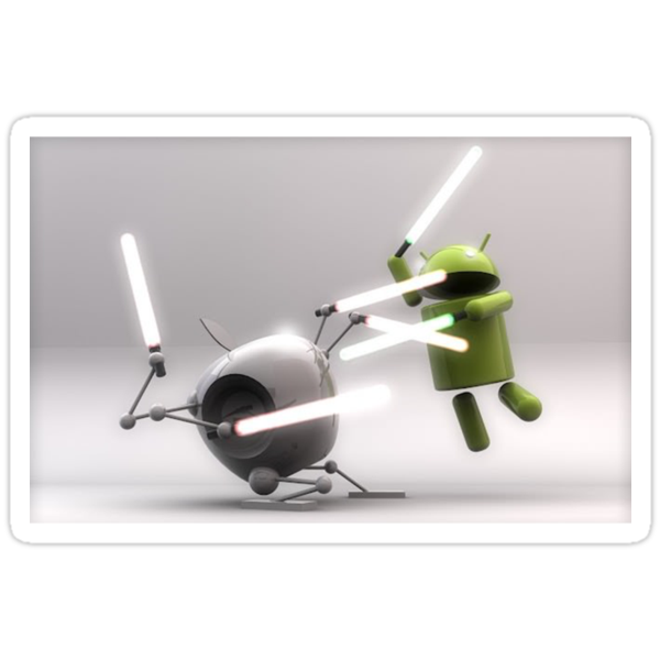Apple vs Android by yoon2972