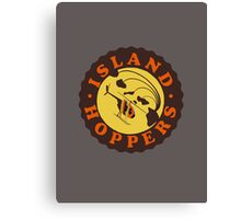 Island Hoppers /brown Canvas Print