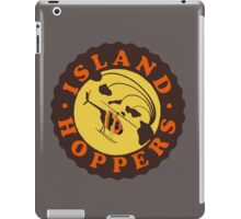 Island Hoppers /brown iPad Case/Skin