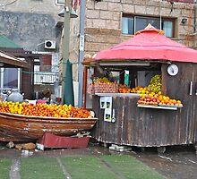 Fruit Stand, Acre by jennifer corker