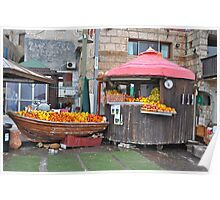 Fruit Stand, Acre Poster
