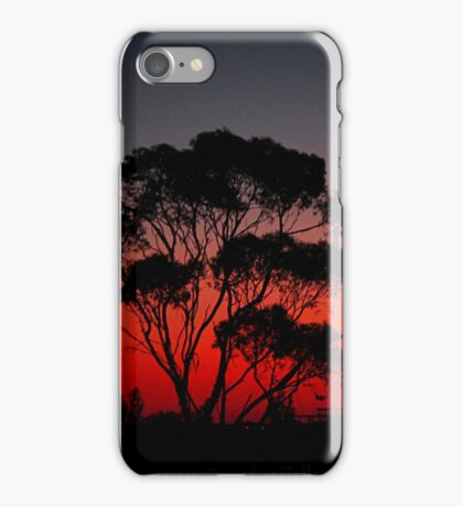 Delicious Aussie Dusk Scene iPhone Case/Skin
