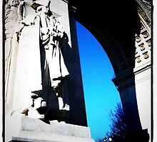 Washington Square Park Arch, 2011 by jennifer corker