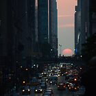 Manhattanhenge 2011 by jennifer corker