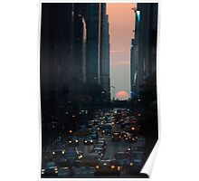 Manhattanhenge 2011 Poster