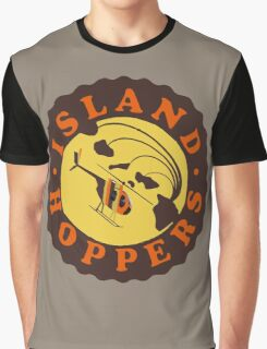 Island Hoppers /brown Graphic T-Shirt
