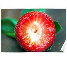 Strawberry Goodness Poster