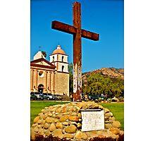 Santa Barbara Mission Photographic Print