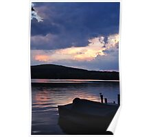 Sunset in Cooperstown 2010 Poster