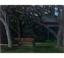 En Plein Air - Centenial Park, Newcastle, NSW - June 2012 Photographic Print