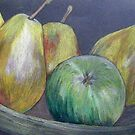 A Dish Full of Pears by Alexandra Felgate