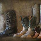 Retired Boots by Kay Kempton Raade