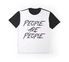 PEOPLE ARE PEOPLE Graphic T-Shirt