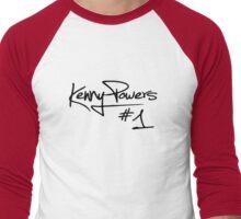 Kenny Powers #1 Men's Baseball ¾ T-Shirt