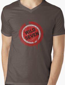 Wild Seven Mens V-Neck T-Shirt