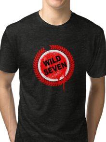 Wild Seven (clean) Tri-blend T-Shirt