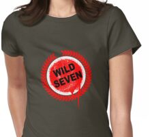 Wild Seven (clean) Womens Fitted T-Shirt