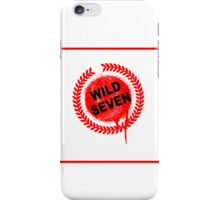 Wild Seven (clean) iPhone Case/Skin