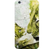 Wild nature - lions iPhone Case/Skin