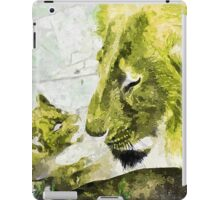 Wild nature - lions iPad Case/Skin
