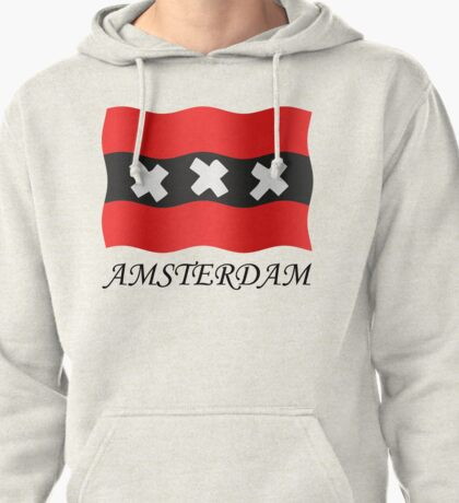 Amsterdam vlag Pullover Hoodie