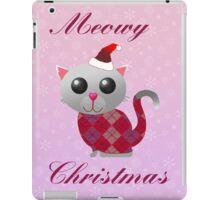 Santa Kitty iPad Case/Skin