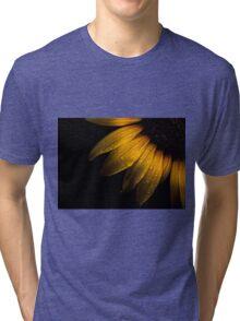 Backyard Flowers 28 Sunflower Tri-blend T-Shirt