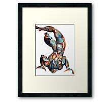 Urizen Isolated on White Framed Print