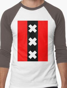 Amsterdam wapen Men's Baseball ¾ T-Shirt