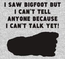 I Saw Bigfoot One Piece - Long Sleeve