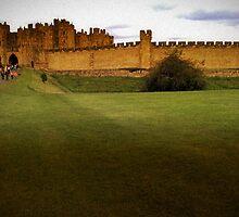 Alnwick Castle by hans p olsen