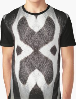 Zebra Texture Pattern made with Photography of a Zebra Graphic T-Shirt