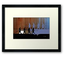 cable carriers Framed Print