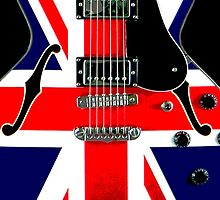Mod Guitar British Flag by CaseBase