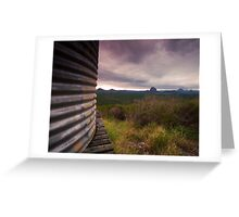 Glasshouse View Greeting Card