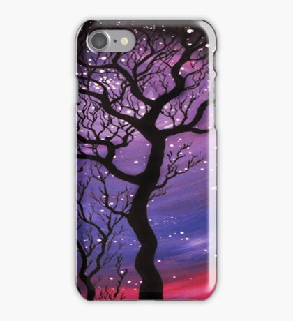 Tree and Stars  iPhone Case/Skin