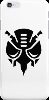 Predacon Logo (Black) by Clinkz