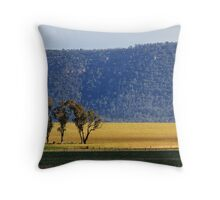 Weddin Mountains at Grenfell Throw Pillow