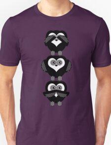 SEE NO,HEAR NO,SPEAK NO Unisex T-Shirt