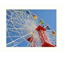 Ferris Wheel @ Luna Park Sydney Australia Art Print